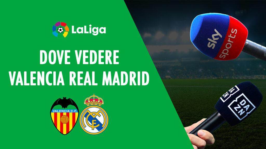 dimana untuk melihat valencia real madrid di tv live streaming liga spanyol sky dazn liga