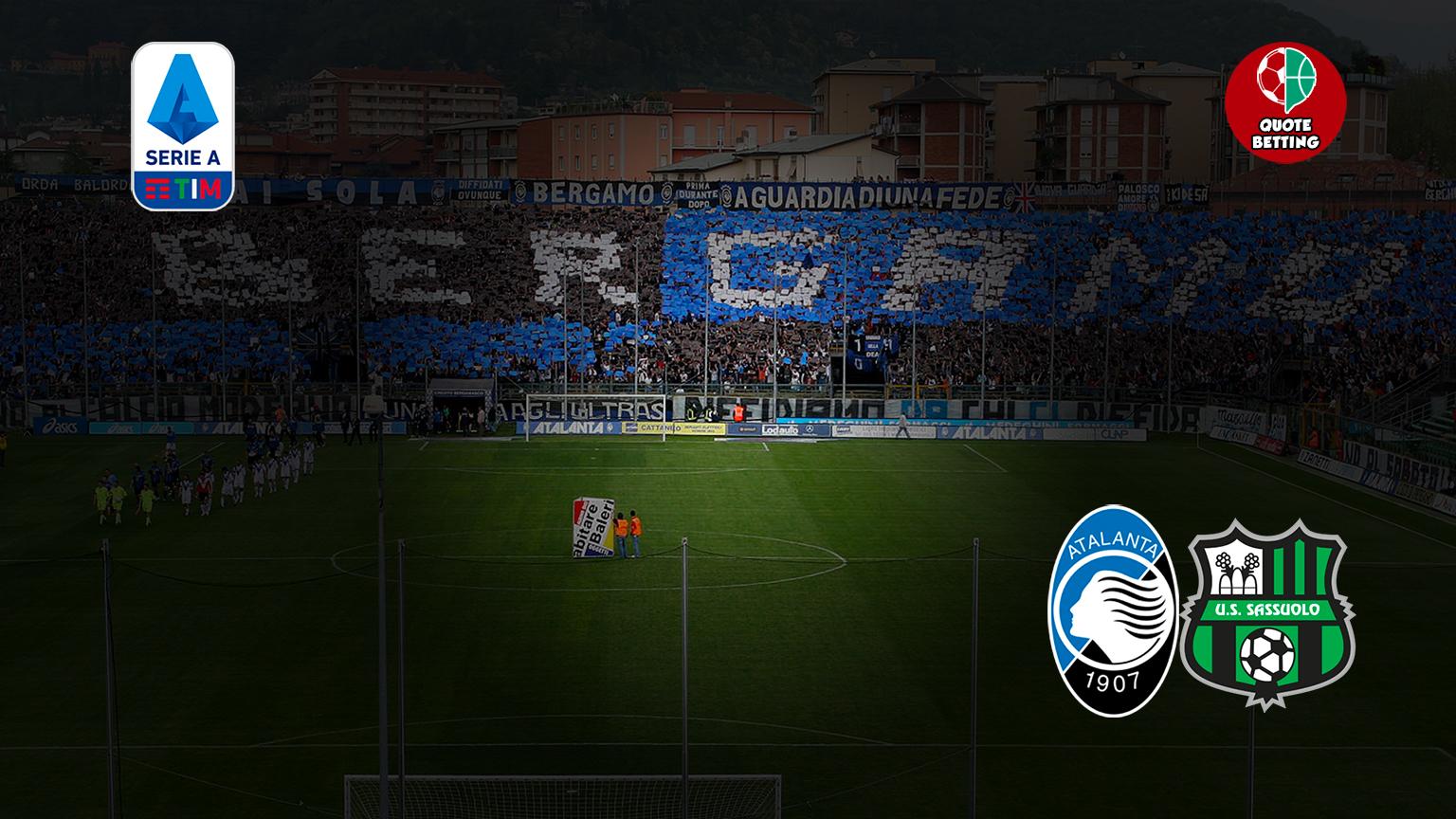 peluang atalanta-sassuolo tempat untuk melihat di tv peluang prediksi formasi seri a taruhan sepak bola italia stadion atalanta-sassuolo
