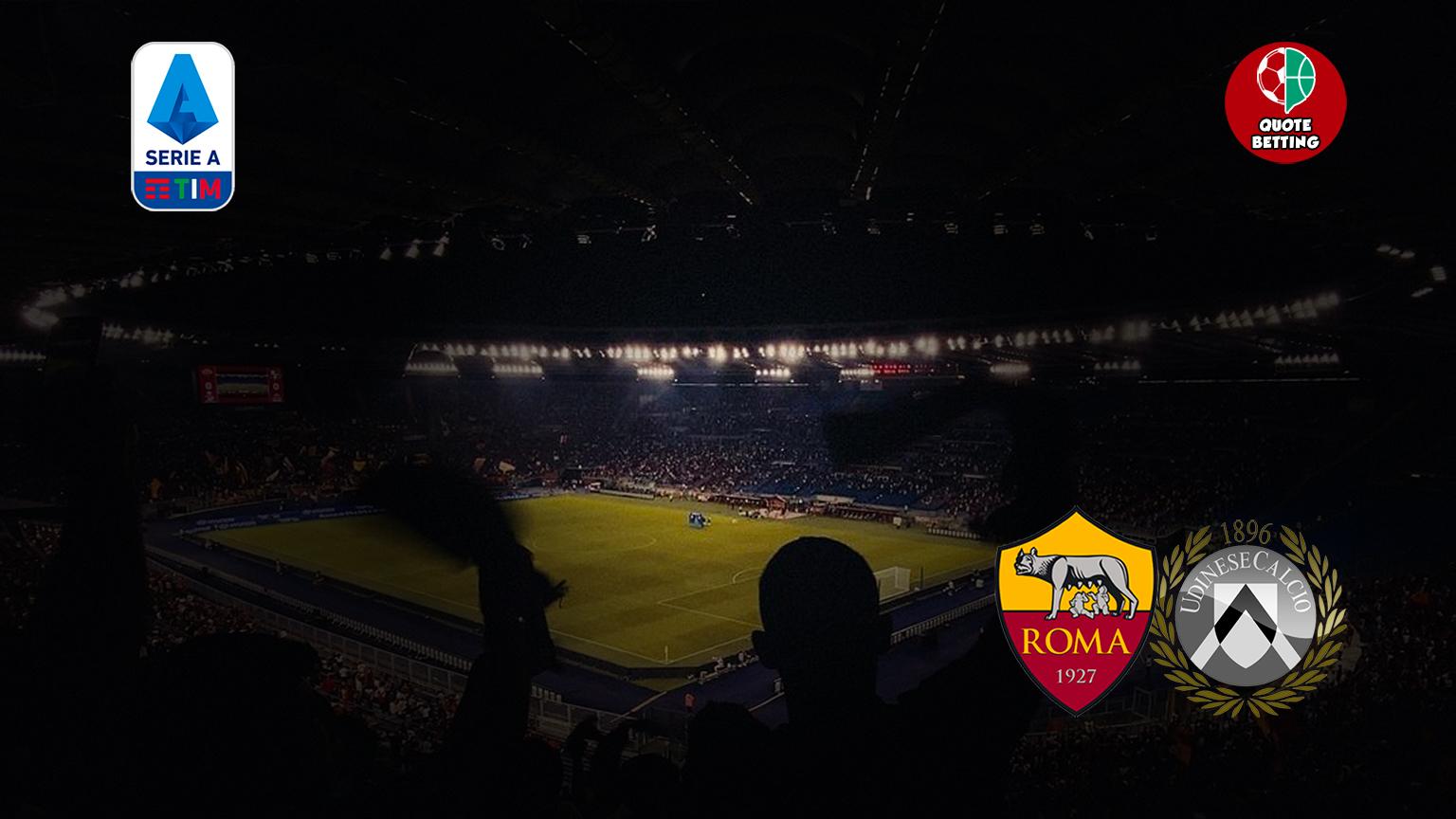 odds roma udinese tempat untuk melihat di tv prediksi formasi odds seri a taruhan sepak bola stadion olimpiade italia roma-udinese