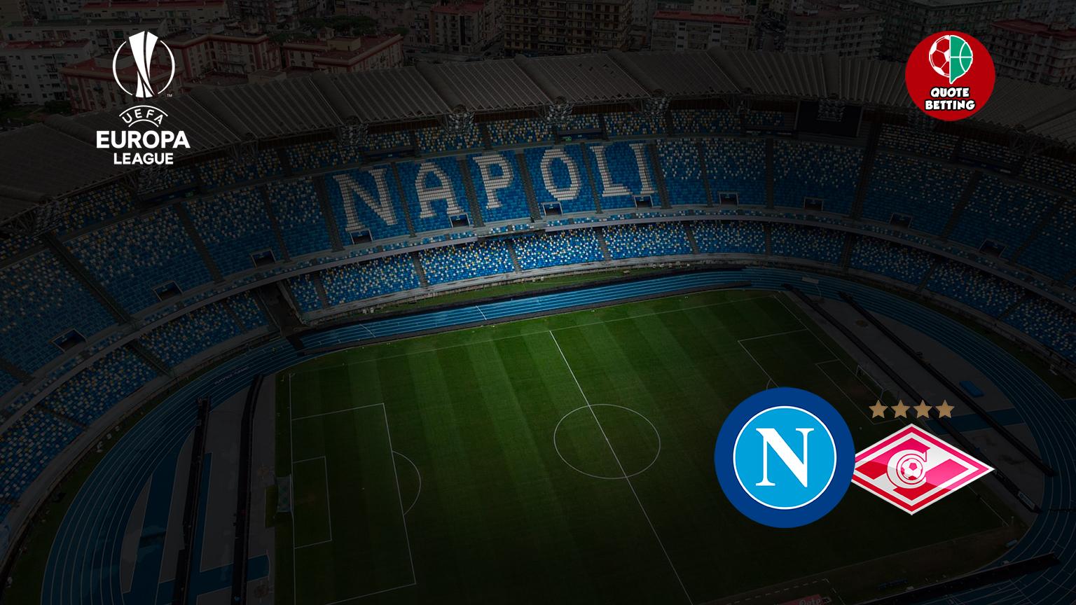 ssc napoli odds spartak moscow tempat untuk melihat di tv prediksi formasi odds taruhan olahraga liga europa UEL napoli-spartak