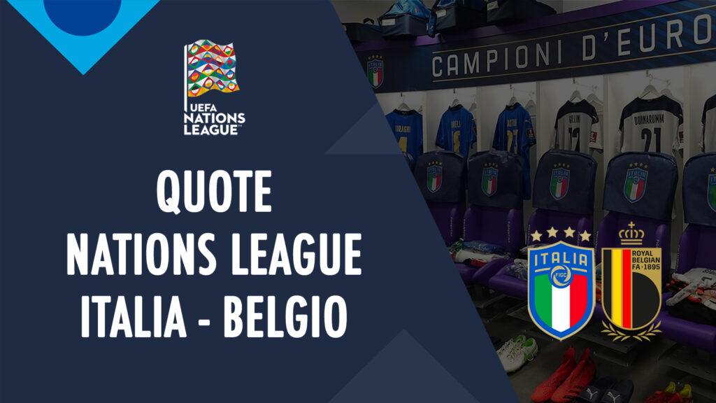 italia belgia peluang tempat untuk melihat di tv prediksi formasi peluang liga negara taruhan olahraga pertandingan berikutnya italia hari ini tim nasional italia