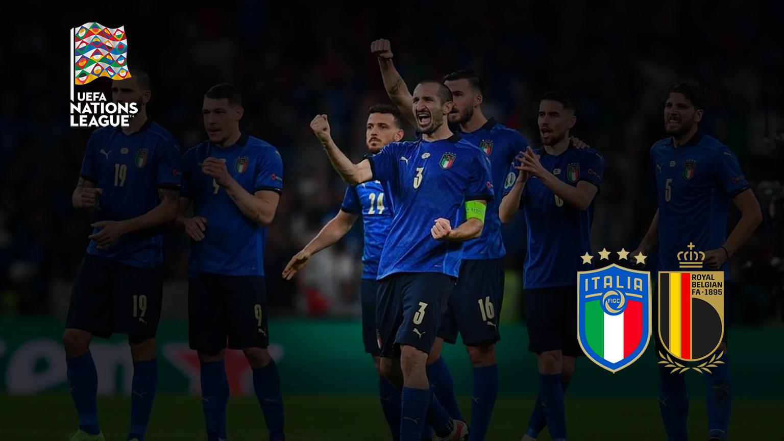 odds liga negara italia belgia tempat untuk melihat di tv prediksi formasi odds final 3 4 tempat taruhan olahraga pertandingan berikutnya italia hari ini tim nasional italia