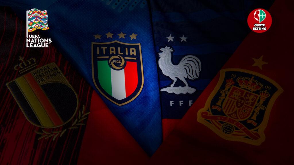 memenangkan odds liga negara 2021 italia belgia perancis tim nasional spanyol pertandingan nasional italia berikutnya